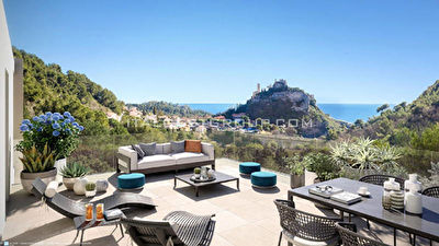 PRESTIGE VIEW - NEW APARTMENTS IN EZE WITH SUPER VIEWS - SWIMMING POOL